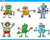 robot cartoon characters