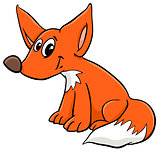 young fox cartoon character