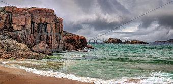Cruit Island dramatic landscape
