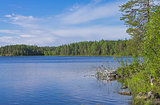 Lake in Karelia.