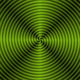 Green Quartered Spiral