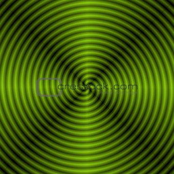 Green Quartered Spiral