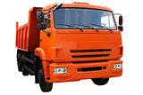 Modern dump truck.