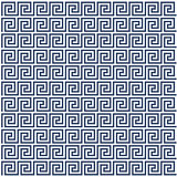 Meander style pattern - greek ornament background