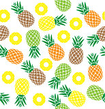 Vector Pineapple Seamless