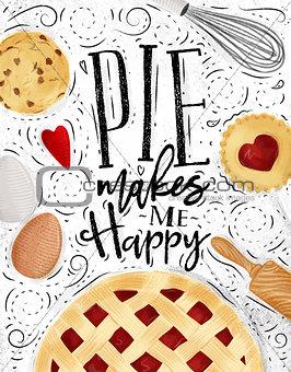 Poster pie