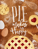 Poster pie craft