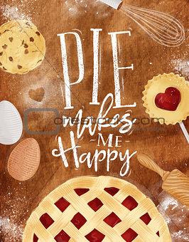 Poster pie craft