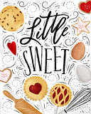 Poster little sweet