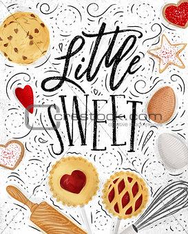 Poster little sweet
