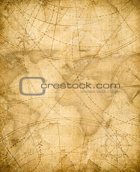 aged pirates treasure map background
