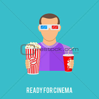 Cinema and Movie concept