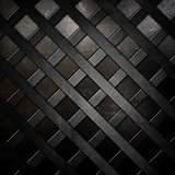 Abstract lattice metallic background