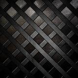 Abstract lattice metallic background