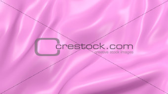 3D Illustration Abstract Pink Background