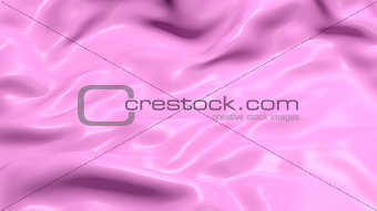 3D Illustration Abstract Purple Background Cloth