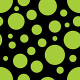 Vector Seamless Pattern with circle shapes