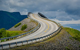Atlantic Road twisted bridge close view