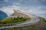 Bridge at norwegian Atlantic Road.