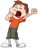 Yawn kid