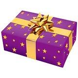 Violet Christmas Present