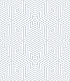 Seamless geometric stars and diamonds pattern.