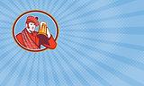 Scotsman Brewery Business card