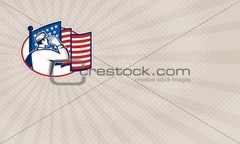 American Veterans Group Business card