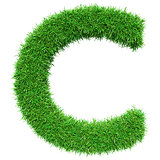 Green Grass Letter C