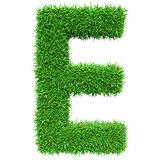 Green Grass Letter E