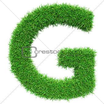 Green Grass Letter G