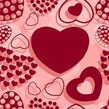 St. Valentine's seamless pattern.