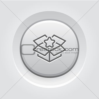 Business Packing Icon. Flat Design.