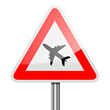 Road Sign Airplane