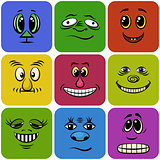Monster Smileys, Set