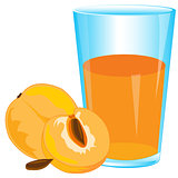 Juice from peach