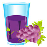 Grape and juice