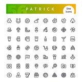 Patrick Line Icons Set