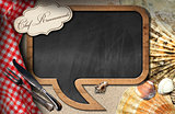 Chef Recommends - Blackboard for Seafood Menu