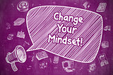 Change Your Mindset - Business Concept.