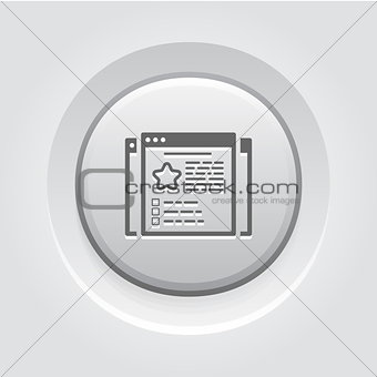 Business Cases Icon. Flat Design.