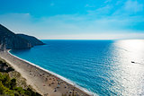 Mylos beach in lefkada, Greece