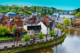 Belgian City of La Roche