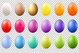Colorful Eggs Set
