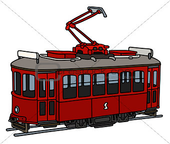Old red tramway