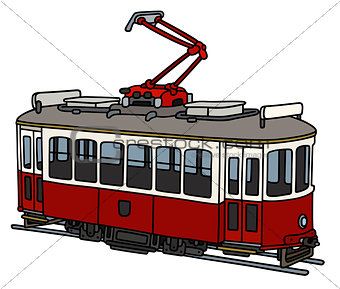 Classic electric tramway