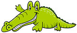 crocodile cartoon character