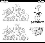 difference game for coloring