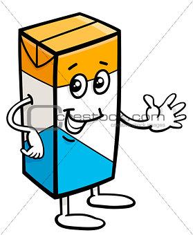 carton of milk character