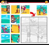 pirates jigsaw puzzle game